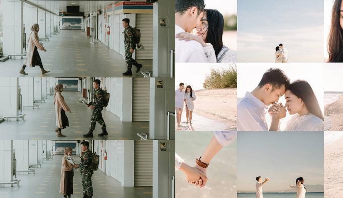 agenangka singapore 8 Ragam Kolase Foto Pre-wedding Estetik. Cara Asyik Biar Semua Foto Terpampang Cantik